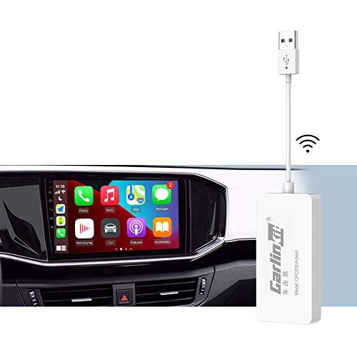 Carlinkit (Descargar APK) dongle inalámbrico USB, para aftermaket vihecle con A-ndroid System Unit Radio Actualización en línea