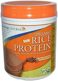 Growing Naturals Prtn Rice Pwdr Choc Org