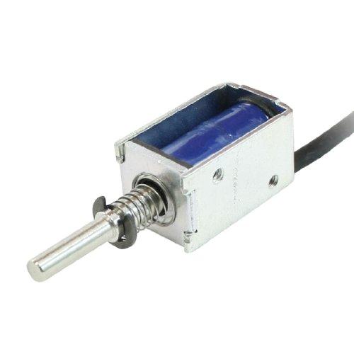 sourcingmap® Zugkupplung Frame Öffnen Stellmotor Elektrik Magnet DC 12V 2mm 100g 1N