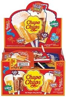 Chupa Chups 3D Fizzy Drinks Lollipops, 90 g