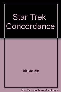 Star Trek Concordance by Bjo Trimble (1977-06-02)