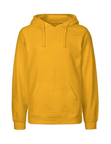 Spirit of Isis Green Cat Kapuzensweatshirt, 100% Bio-Baumwolle. Fairtrade, Oeko-Tex und Ecolabel Zertifiziert, Textilfarbe: gelb, Gr.: S
