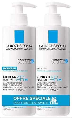 La Roche-Posay Lipikar AP+ M Replenishing Balm 2 x 400 ml
