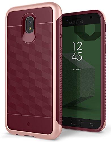 Caseology Parallax for Samsung Galaxy J5 Pro Case (2017) - Award Winning Design - Burgundy