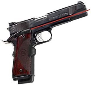 Crimson Trace LG-901 Master Series Lasergrips Red Laser Sight Grips for 1911 Full-Size Pistols - Rosewood