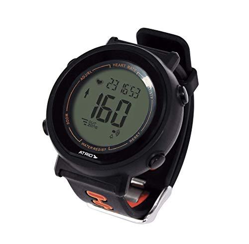 Monitor Cardíaco Atrio + Cinta Fortius com Contador de Calorias Cronômetro Alarme Preto - ES049