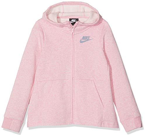 Nike Kinder G NSW Hoodie Fz Pe, Rosa, L/147-158 cm