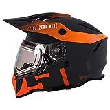 509 Delta R3 Ignite Full Face Snow Helmet with Fidlock (Orange - Small)