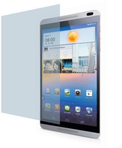 4ProTec I Huawei MediaPad M1 8.0 ENTSPIEGELNDE Premium Bildschirmschutzfolie Displayschutzfolie (2 Stück) Schutzhülle Bildschirmschutz Bildschirmfolie Folie