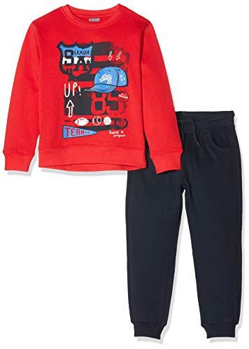 Losan Jungen 925-8651aa Sportbekleidung Set, Rot (Rojo Medio 492), 7 Jahre (Herstellergröße: 07)