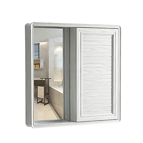 J+N Einfach-spiegelschrank Bad Schiebetür Höhe: 70 cm Badezimmer Spiegelschrank Badezimmer Platzsparendes Design Badmöbel Für Kleine Bäder Bad Spiegelschrank