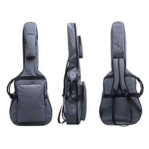 Jumbo Guitar Gig Bag Thickening and Waterproof 42' 43' Acoustic Guitar Bag (Grey)