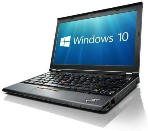 Lenovo ThinkPad X230 (12in Laptop) [Intel Core i5 3320M 2.60GHz, 16GB Memory, 512GB SSD with Windows 10 Professional (Renewed)