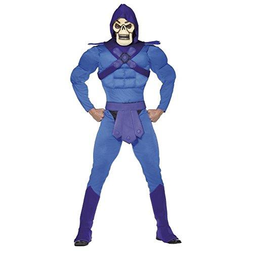 Smiffys He-Man Masters Herren Kostüm Skeletor Karneval Fasching Gr.M
