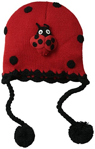 Kidorable Little Girls Hat, Ladybug, One Size