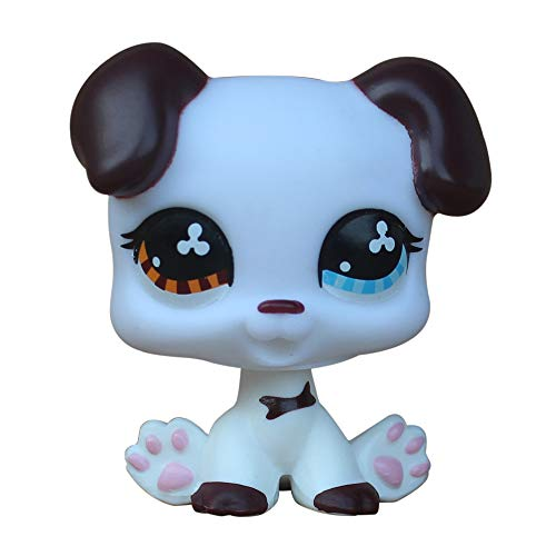 LPSCB Custom-Made Baby for Great Dane #577 Dog White Body 1 Inch Puppy Mini Pet Shop Toys