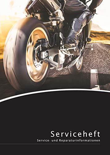 Lobsinger Motorrad Serviceheft/Scheckheft, FÜR ALLE Hersteller und Modelle geeignet ✓ blanko Wartungsheft inkl. Tuning-Bereich!