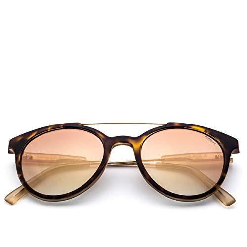 SARAGHINA, Gafas de sol Gerry Iron Turtle Flash Gold Lens, SAR_GERRY IRON-147FF - DA SOLE