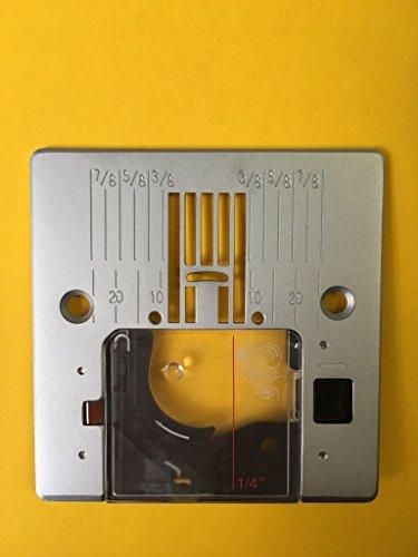 Stichplatte + Spulenabdeckung für Pfaff Nähmaschinen Smarter 260c