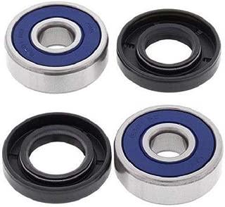 BossBearing Rear Wheel Bearings Seals Kit for Yamaha TTR125 Drum Brake 2005 2006 2007 2008 2009