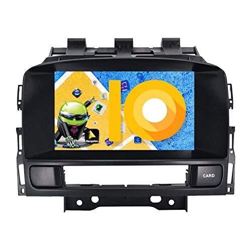 ZWNAV Andriod 9.0 Estéreo para automóvil Navegación por GPS para Opel Vauxhall Holden Astra J 2010-2016 Soporte para Europa 49 CD de mapeo de país DVD Dab + WiFi 7'Pantalla táctil