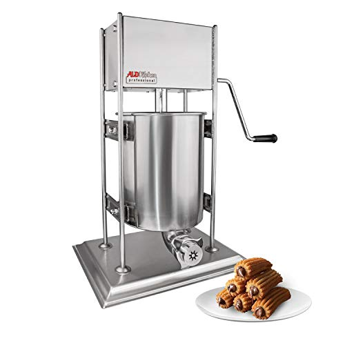 ALDKitchen Churro Maker | Vertical Type Churro Machine | Stainless Steel | 10L Capacity | Manual Control