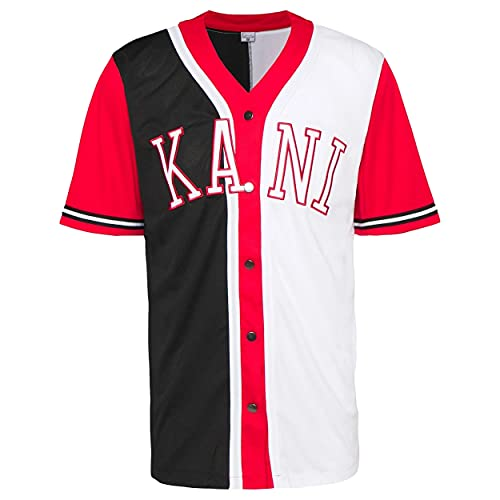 Karl Kani College Block Baseball Tee - M