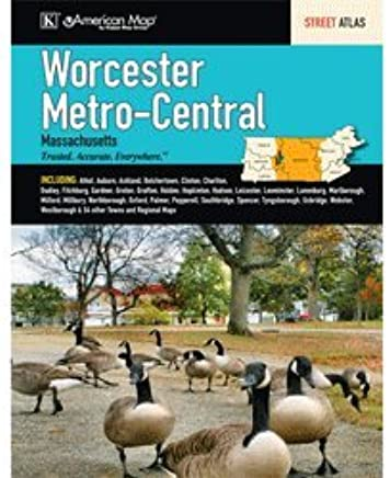 Worcester, MA Metro-Central Street Atlas