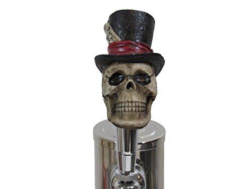 Lucky 13 Top Hat Sports Bar Beer Tap Handle Kegerator Resin Zombie...