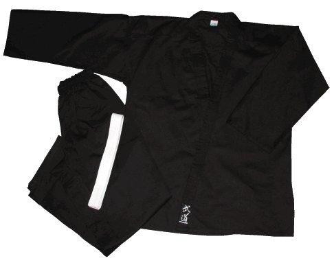 S.B.J - Sportland Karateanzug/Kampfsportanzug/SV Anzug Godan 170 cm, schwarz