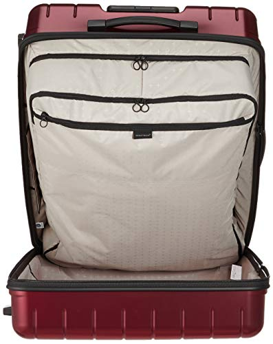 [プロテカ]スーツケース日本製360Tメタリックキャスターストッパー付保証付86L71cm4.7kgレッド