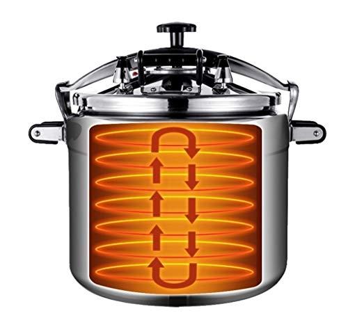 Gran Capacidad de aleación de aluminio Pot, Comercial sopa de olla, de múltiples funciones del hogar Utensilios de cocina, se puede utilizar como fuentes de la cocina for hoteles 18L / 25L / 33L / 50L