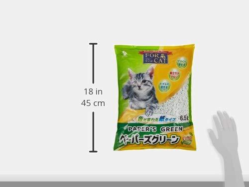 新東北化学工業猫砂ペーパーズグリーンひのきの香り6.5L