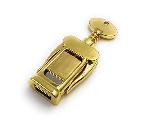 Onlineworld2013 Flaschenöffner Weinflasche Korkenzieher Gold Funny USB Stick 128 GB USB 3.0