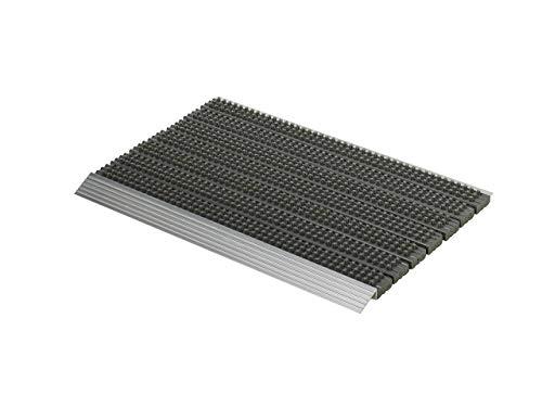 Astra 1850030042Super Brush Gris Aluminio Felpudo, 75x 45x 2,8cm