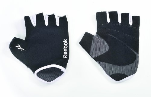 Reebok Uni Handschuh Elements Fitness, grey-white, L/XL, RAEL-11134BK