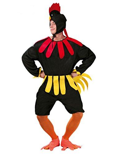 Disfraz de gallo negro