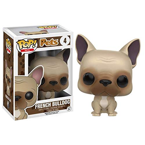 Funko Pop Pets : French Bulldog 3.75inch Vinyl Gift for Pet Fans SuperCollection