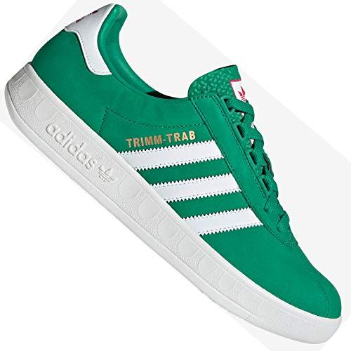 adidas Originals Trimm Trab EE5727 - Zapatillas deportivas de piel, color verde, color Verde, talla 40 EU