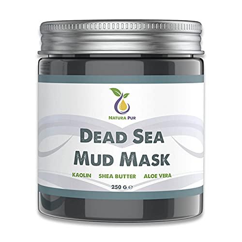Maschera Viso di Fango del Mar Morto 250g, vegan -...