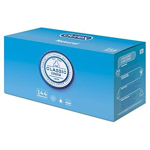 Durex Preservativos Originales - Pack Ahorro 144 condones