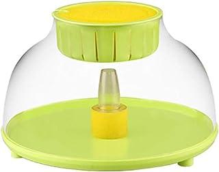 Skyout Acuarios Y Peceras, 220V Pequeño Micro Sumergible Mini Ecológico Fish Tank Fountain Acuario Oficina