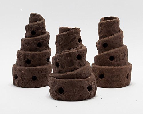 Garnelenturm 'Pisa' für Garnelen und Zwergkrebse / Deko Aquarium Nano höhle keramik