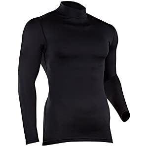 ColdPruf Men's Quest Performance Activewear Long Sleeve Mock Neck Top