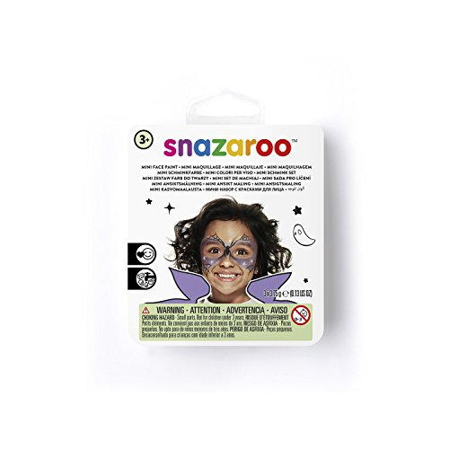 Snazaroo kinderschmink mini set feestelijk masker Heks. Eén maat multicolor