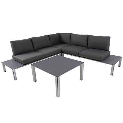 MWH Eck-Loungeset Element Sofa 3-teilig mit Loungetisch 879338 vorher 879341