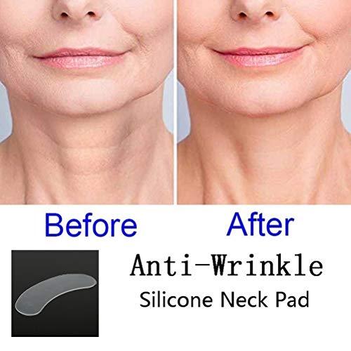 Oyria Coussinets anti-plis réutilisables en silicone pour le cou