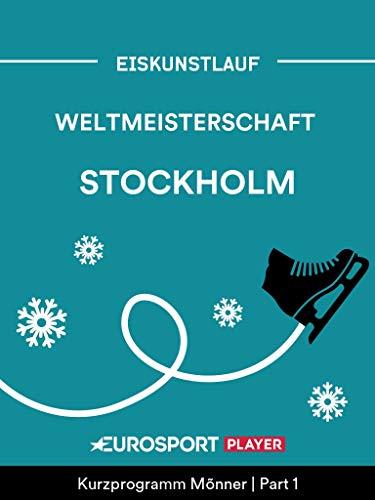 Eiskunstlauf: Weltmeisterschaft in Stockholm (SWE)