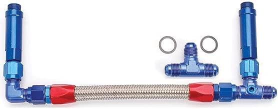 JEGS 100827 Dual Feed Fuel Line (Fuel Log) Kit for Demon Standard Carburetors