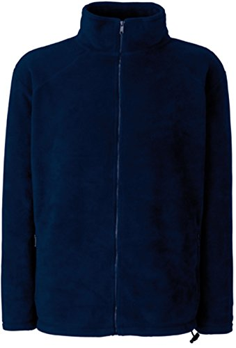 Fruit of the Loom Full Zip Fleece DeepNavy M
